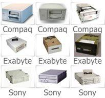 00088-102 - Tandberg 20/40GB Internal Tape Drive