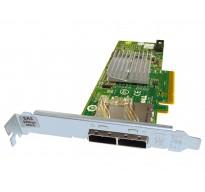 12DNW Dell H200e 6GBPS HBA Dual Port SAS Controller Card