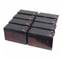 RBC27 - CSB Replacement Batteries No Tray. APC Compatible