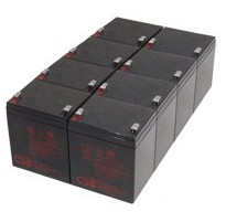 RBC43 - CSB Replacement Batteries for APC UPS No Tray Inc