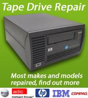 Tape Drive Repair